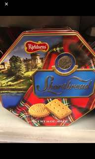藍罐曲奇 kjeldsens shortbread all-butter cookies 454g
