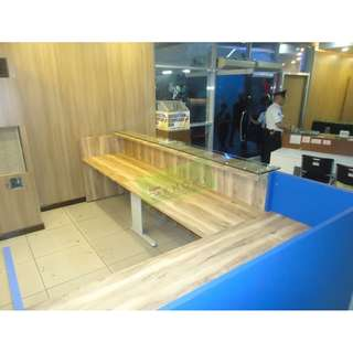 Office Furniture-Office Partition**KHOMI**Reception Counter