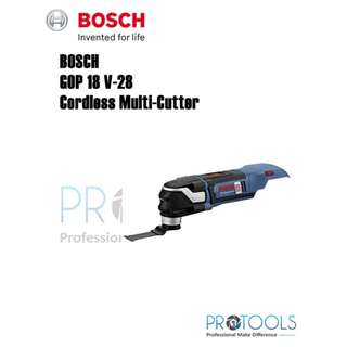 Bosch Cordless Multi Cutter GOP 18 V-28 (SOLO) 0 601 8B6 002