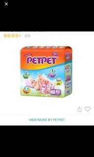 Pet pet diapers newborn 62 pieces
