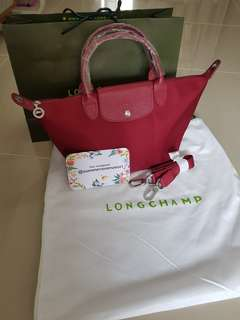 Longchamp neo small with LS