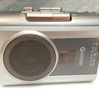 收音機,可放錄音帶,全新日本機, DSE
