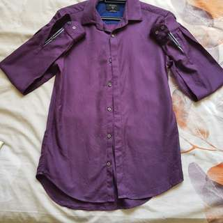 PRICE REDUCED: Padini Dress Shirt (Violet) #MidSep50