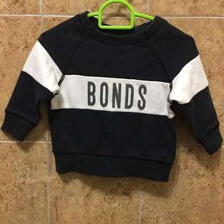 Bonds pullover size 00