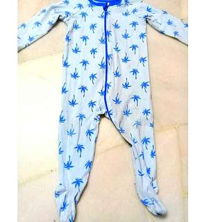 6-12 Months Baby Sleepsuit/ Overall
