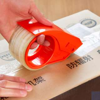 Deli 801 sealing 4.8cm transparent adhesive tape tape cutter