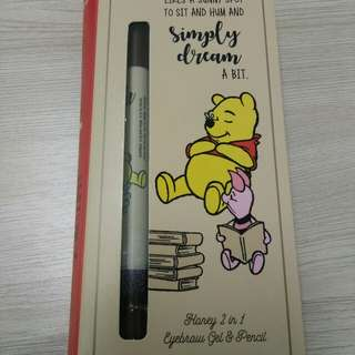 Winnie the pooh 2 in 1 eyebrow Gel & Pencil