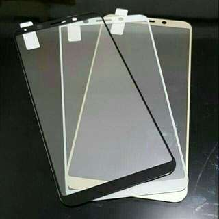 Oppo A59 F1s CARBON Tempered Glass Color Warna Kaca Plastik