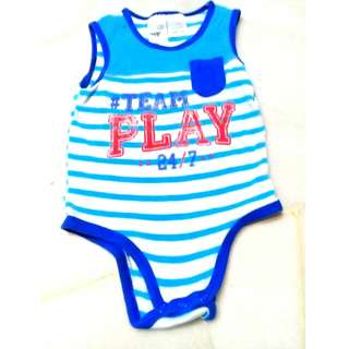 6-12 Months Tiny Little Wonders Sleeveless Romper