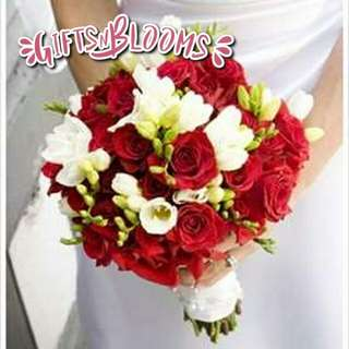 Fresh Flower Bouquet Anniversary Birthday Flower Gifts Graduation Roses Sunfowers Baby Breath -  495E4