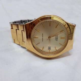 Casio Classic Gold Round Watch