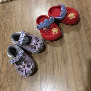 2pcs Baby Shoes
