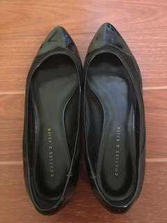 Charles & Keith Black Office Shoes