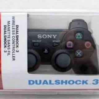 PS3 Original Wireless Bluetooth Controller in box 1 white 1 black available