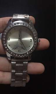•BrandNew• Stainless Women Watch Paris Design (free sf cavite-laguna,biñan and mm areas)