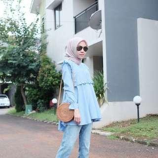 Midi Dress Gonegani Blue