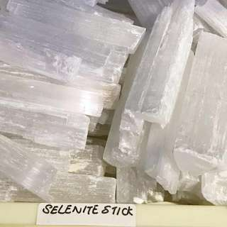 Rough selenite sticks
