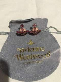 Vivienne Westwood 耳環連塵袋