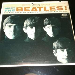 Vinyl Lp THE BEATLES (FIRST ALBUM)