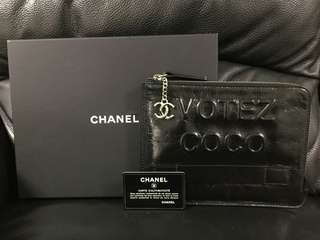 Chanel pouch clutch