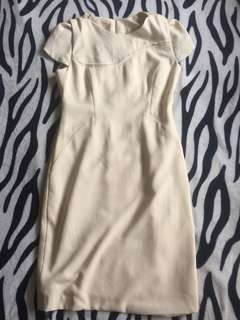 Off white Corporate Dress M-L