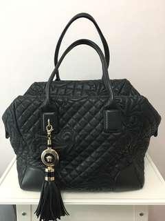 Versace black handbag