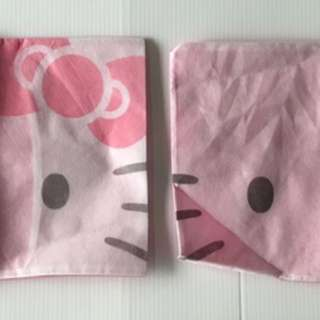 代友售 全新 EVA Airline Hello Kitty 抱枕套