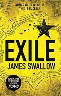 Exile by James Swallow (fiction a paperback)