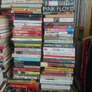 Fiction, Memoirs, Essays, Biographies (see photos for titles) No reservation