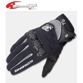★READY STOCK SIZE M ★KOMINE GK-162 ★3D MESH RIDING GLOVES MOTORCYCLE GLOVE AIR MESH ★ RACING CYCLING TOUCH SCREEN SMART TIP ★E-SCOOTER GLOVES ★ NEW BLACK WHITE ★ DIRT BIKE ★ OFF ROAD ★