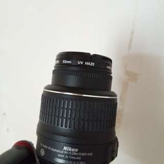 Nikon AF-S NIKON 18-55mm KIT LENS 1:3:5-5.6G/ VR. NO ISSUES!  W/ UV FILTER. FOR SALE OR SWAP SA PRIME LENS. NO ISSUES! RFS: EXTRA LENS NAKATAMBAK LG