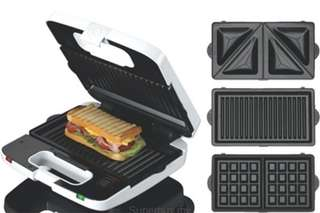 Kenwood waffle,grill and sandwich maker