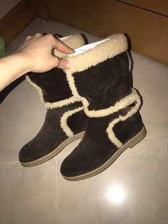 Lv毛毛boots