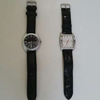 Two Branded watches $10