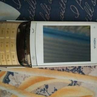 Nokia C2 Sliding Phone (Defective)