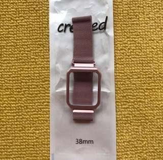 Appe watch bands- iwatch straps aluminum magnet 38 mm