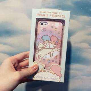 Little Twins Star 手機殻 軟殻 Iphone 5s Sanrio