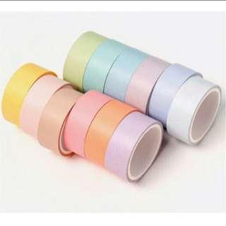 Pastel Washi Tapes