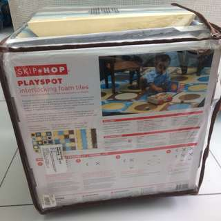 PRICE REDUCED!! Skiphop Playspot Playmat Foam Tiles