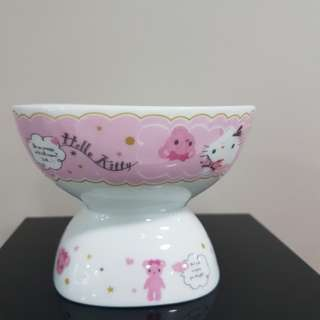 Hello kitty porcelain dessert set (2 pcs)