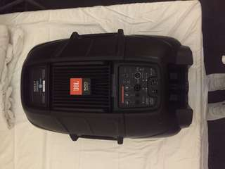 Jbl 515 PA speaker with built in subs and amp