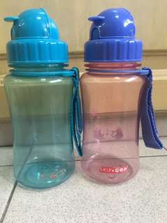 Skip Hop water bottles