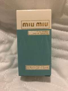 Miu Miu l'eau rosee 0.25fl oz 7.5ml