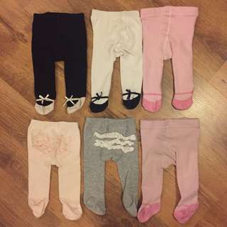 Six Baby Legging tights pants
