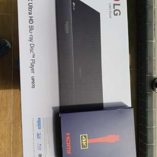 LG UP970 4K Blue-Ray disc player