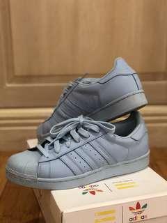 Adidas Superstar 1 Pharrell Supercolor Sky Blue