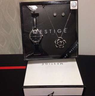 BNIB MESTIGE WATCH SET