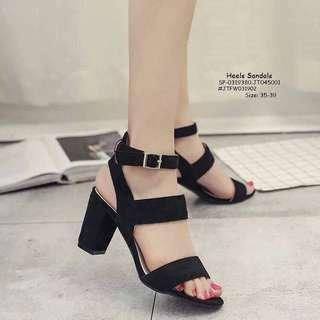 Heels sandals size : 35-39