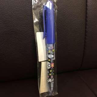 2002年大口仔兩用筆🖊絕版 Minna No Tabo two-way pen/pencil