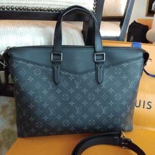 Authentic Louis Vuitton Briefcase Bag Explorer